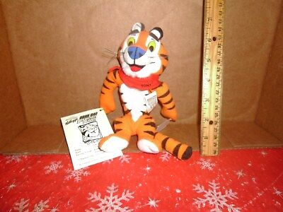 Kellogg's Cereal Breakfest Bunch Plush Bean Bag Doll Tony The Tiger withTag #24