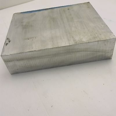 "3"" x 12"" Aluminum Solid 6061 FLAT BAR 8.875"" Long new mill stock sku K120"