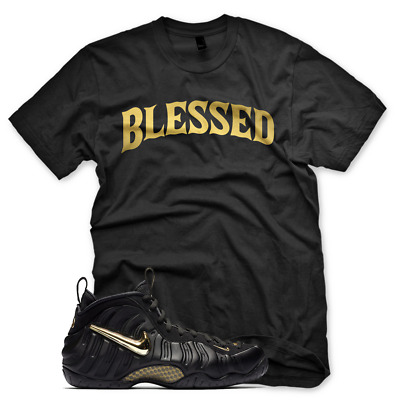 58a25795fdaef NEW WHITE BW BLESSED T Shirt for Nike Elemental Rose Pink Foamposite ...