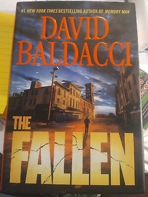 David Baldacci The Fallen AUTOGRAPHED FIRST Edition Hardcover Book