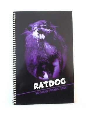 RatDog So Many Roads Tour 2001 Band & Crew Itinerary Book Bob Weir Grateful Dead