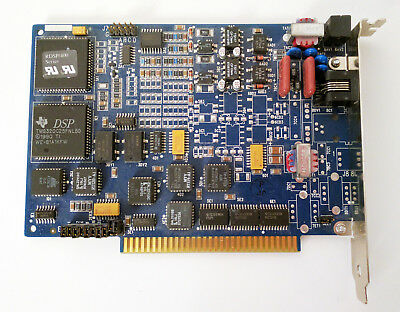 RHETOREX BROOKTROUT RDSP 232 50-02-008V 2-Port Voice Processing ISA Card