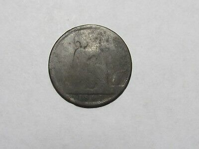 Old Great Britain Coin - 1861 Penny - Circulated