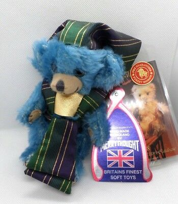 Merrythought Cheeky Little Pharoah Limited Edition Blue Bear 89 of 500 EGYPT Tag