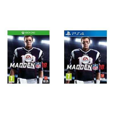 Madden NFL 18 Sony PS4 / Microsoft XBox One Game