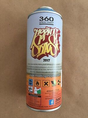 Meeting Of Styles Limited Edition Spray Can, 360 Spray Paint, Rare