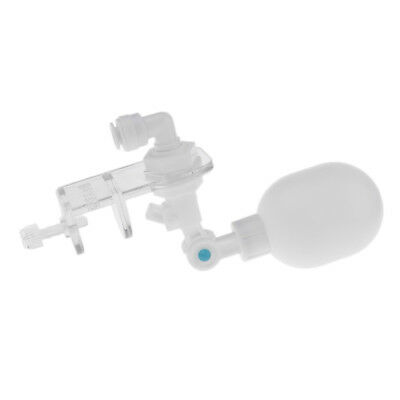 Float Valve Water Level Control Water Filter Float Ball Valve White