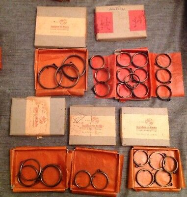 Clock Mainsprings 27 NOS From Clockmakers Spare Parts Collection