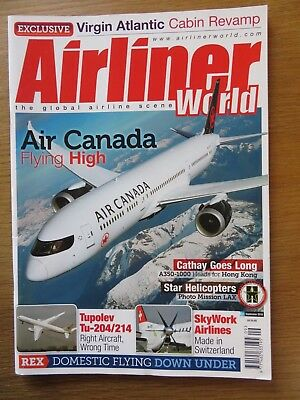 Airliner World aircraft magazine September 2018 Excellent condition