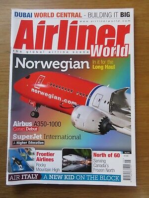 Airliner World aircraft magazine May 2018 Excellent condition
