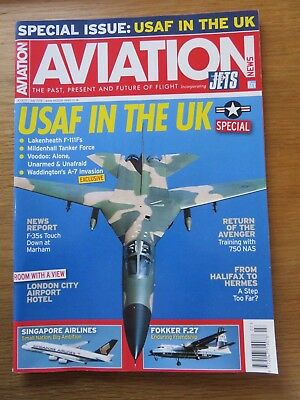 Aviation News inc Jets aircraft magazine July 2018 Excellent condition