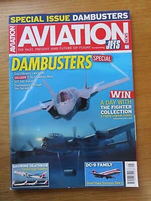 Aviation News inc Jets aircraft magazine May 2018 Excellent condition