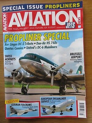 Aviation News inc Jets aircraft magazine March 2018 Excellent condition