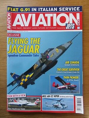 Aviation News inc Jets aircraft magazine February 2018 Excellent condition
