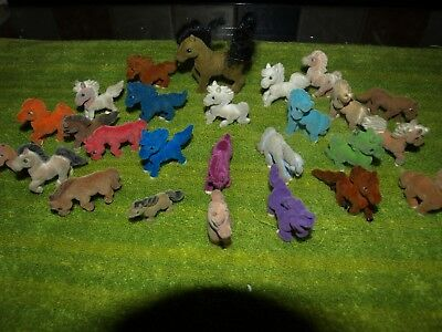 PONIES IN MY POCKET - bundle of horses (26) children's toy animal collectables