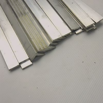 ".125"" x 1"" Aluminum 6061 FLAT BAR 22.5"" Long new mill stock QTY 25 sku K610"