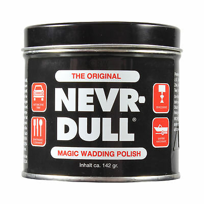 NEVR-DULL Metall-Polierwatte C2116A (142 g)