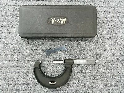 Moore & Wright Micrometer 25mm-50mm