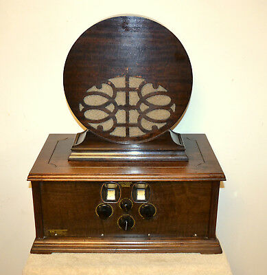 Antique 1927 Silver Marshall Universal All Wave Tuner~Tube Radio~Model 644Sg