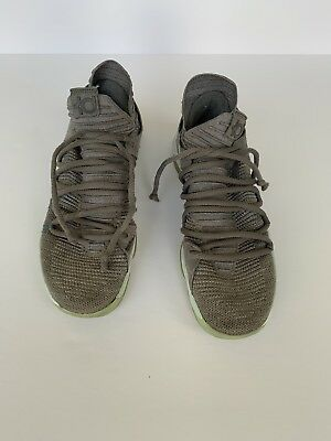 "a4d001b8f55 NIKE ZOOM KD10 ""Numbers"" Men s Size 10.5 White Warriors 897815-101 ..."