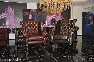 Chesterfield Ohrensesse Rochester® Cathedral 2019King Rinder Leder A100