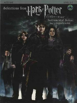 Harry Potter and the Goblet of Fire for Alto Sax Saxophone Sheet Music Book/CD