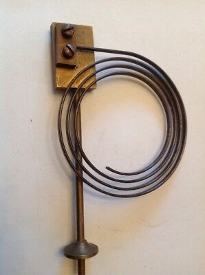 Clock Chime Gong Brass 155X100mm  Antique Mantle Clock Spare Part