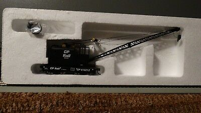 HO Scale CP Rail Canadian Pacific MOW Crane  Lot E