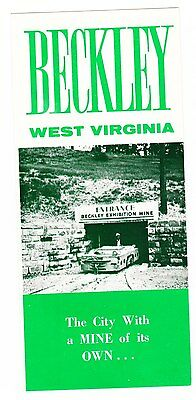 Tourist Souvenir Brochure Beckley West Virginia and near by points of interest