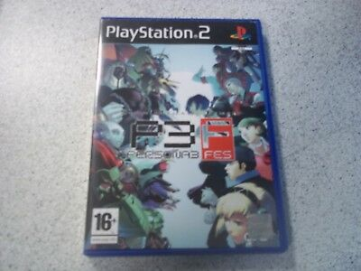 Persona 3 Fes Pal (Playstation 2 Ps2) Original. Empty Box Inlay Only.