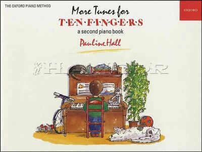 More Tunes for Ten Fingers Very Easy Piano Sheet Music Book Pauline Hall