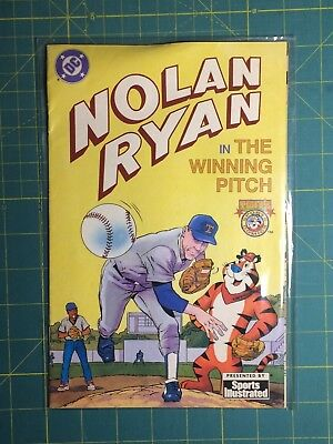 DC Nolan Ryan in the Winning Pitch - Tony's Sports Comic Book Sports Illustrated