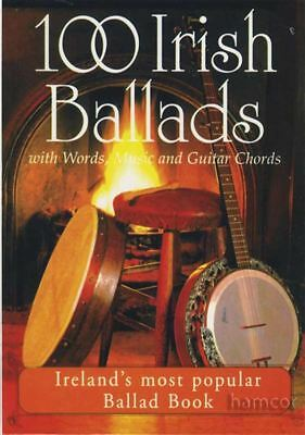 100 Irish Ballads Volume 1 Chord & Melody Songbook Music Book