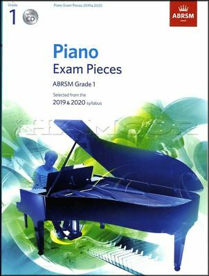 ABRSM Piano Exam Pieces 2019 2020 Syllabus Grade 1 Sheet Music Book and CD