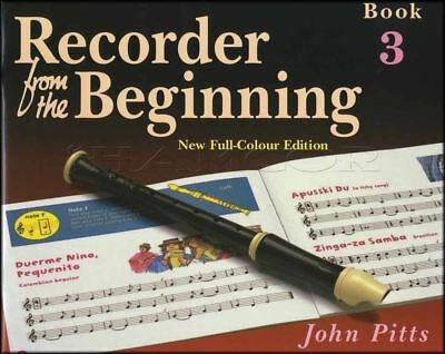 Recorder from the Beginning 3 Music Book Learn How To Play Method Kid Children