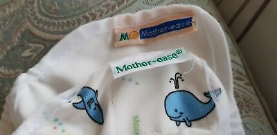 2 Mother Ease covers wraps for Reusable Nappies Size 1