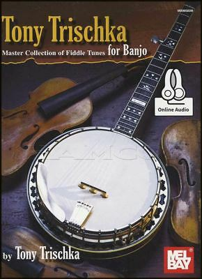 Tony Trischka Master Collection Fiddle Tunes for Banjo TAB Book/Audio 5-String