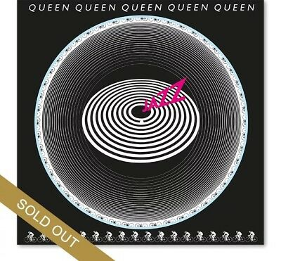 QUEEN JAZZ 40th ANNIVERSARY VINYL PICTURE DISC SOLD OUT LOW NUMBER #412