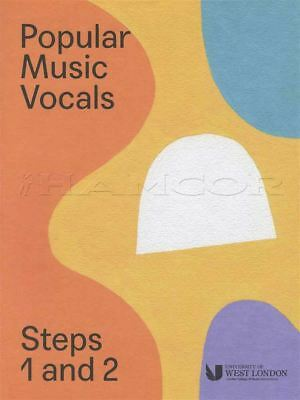 Popular Music Vocals Steps 1 And 2 London College of Music LCM Singing Exam Book