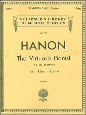 Charles-Louis Hanon The Virtuoso Pianist Complete 60 Exercises Piano Music Book