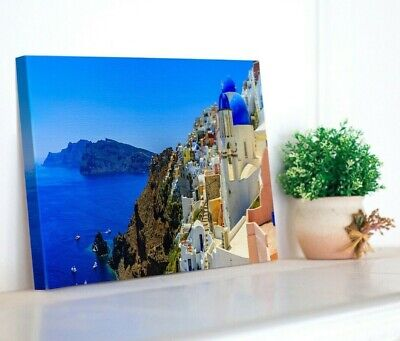 Canvas Print Your Photo On Large Personalized 1 Inch Deep Framed -A4 A3 A2 A1 A0