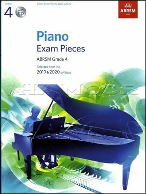 ABRSM Piano Exam Pieces 2019 2020 Syllabus Grade 4 Sheet Music Book and CD