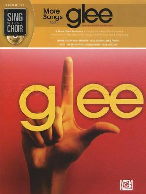 Sing with the Choir More Songs from Glee Vocal Sheet Music Book with CD Firework