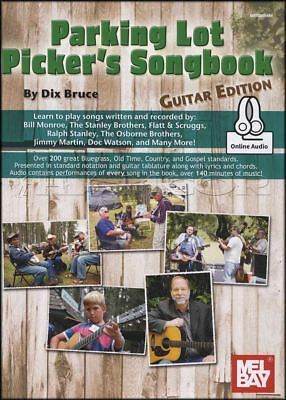 Parking Lot Picker's Songbook Guitar Edition TAB Music Book with Audio County