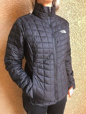 985a58358 THE NORTH FACE womens TNF Black Thermoball Jacket Size XS S M L