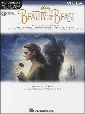 Beauty and the Beast Instrumental Play-Along for Viola Music Book/Audio Movie