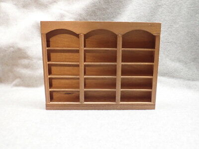 Dollhouse Miniature Tall Display Case, DC1_NOS