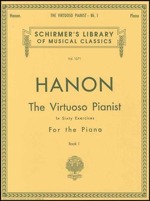Charles-Louis Hanon The Virtuoso Pianist in Sixty Exercises Book 1 Piano Music