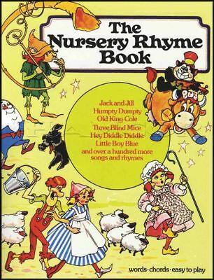 The Nursery Rhyme Book Vocal Sheet Music with Piano Three Blind Mice Jack & Jill