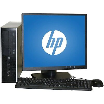 Dell/HP Full Set Bundle Dual Core/AMD Desktop Tower PC&LCD Win 7/10  8GB 1TB